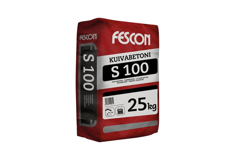 KUIVABETONI S100 25 KG FESCON